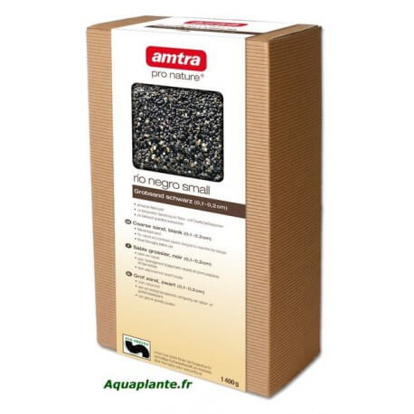 AMTRA PRO NATURE RIO NEGRO SMALL 0,1-1mm 2Kg