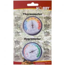 Hobby Hygromètre + Thermomètre Autocollant