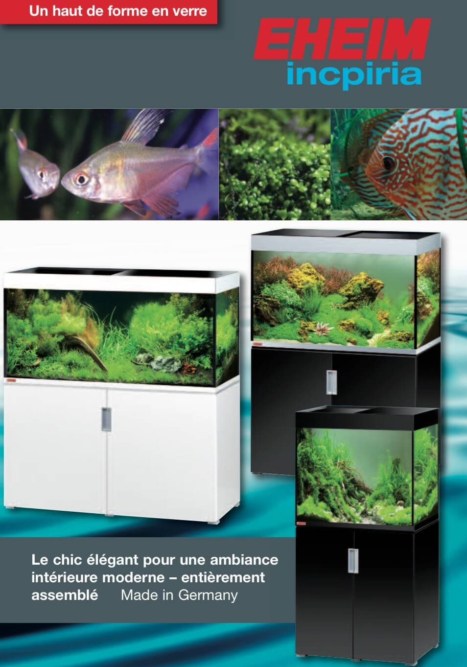 aquarium nano aquariums aquariums eheim eheim incpiria 400 aquarium meuble 2x54w. Black Bedroom Furniture Sets. Home Design Ideas